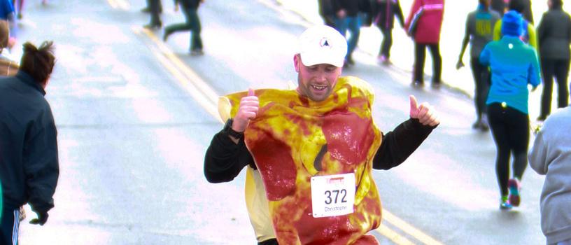 chris pizza finish line