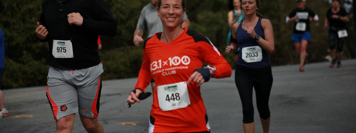 Random happy runner